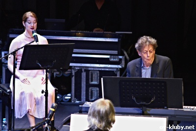 philip glass and ensemble